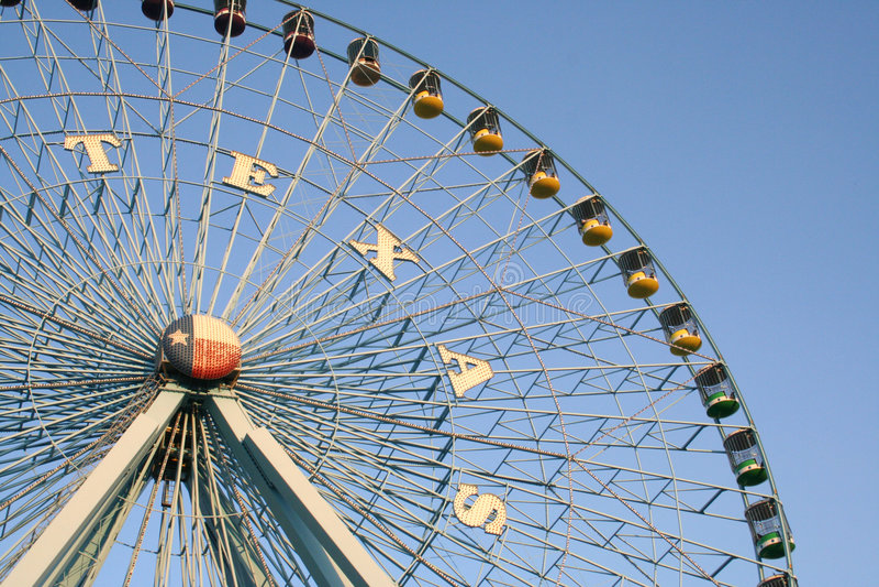 Roda de Texas Ferris imagens de stock