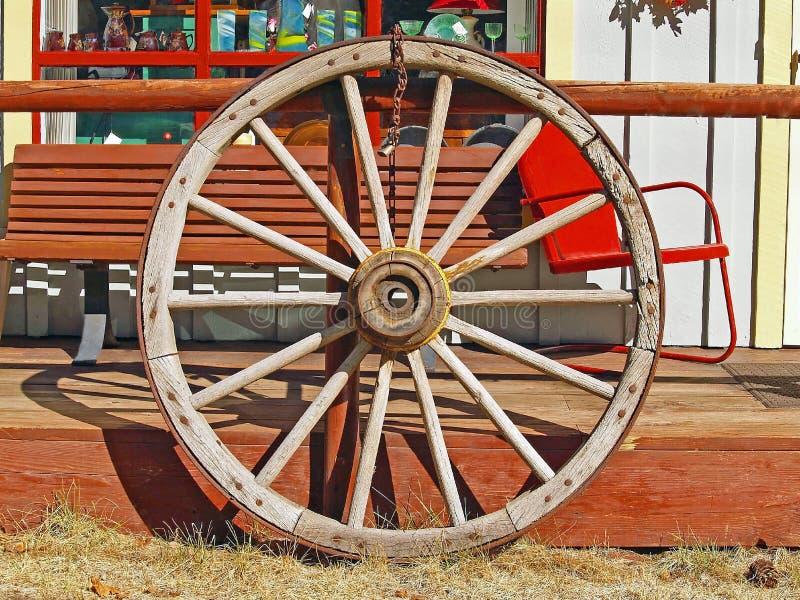 Roda de vagão imagens de stock