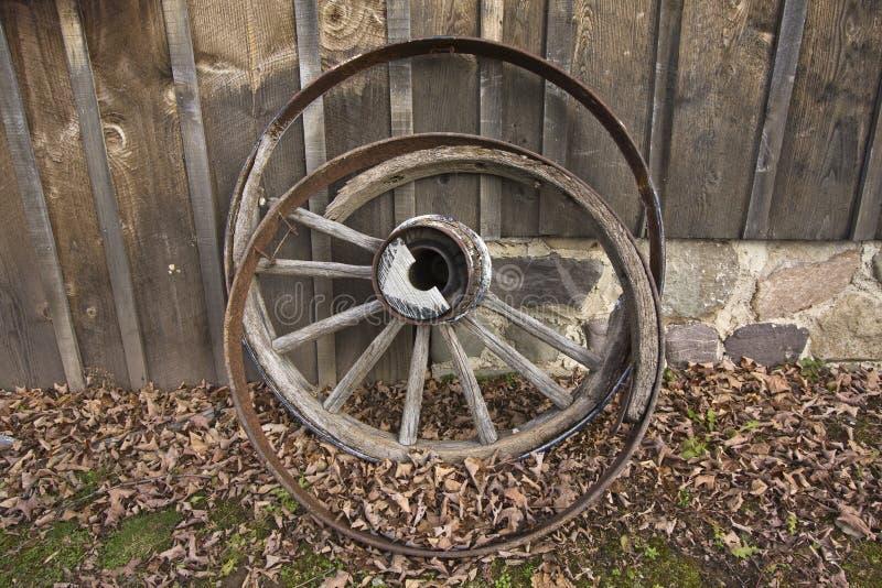 Roda de vagão imagem de stock royalty free