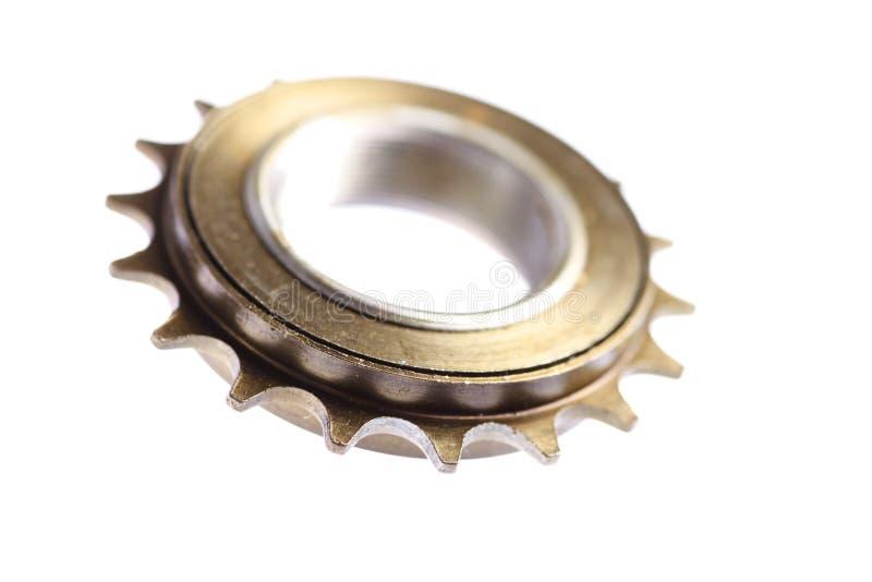 Roda dentada chain usada imagens de stock