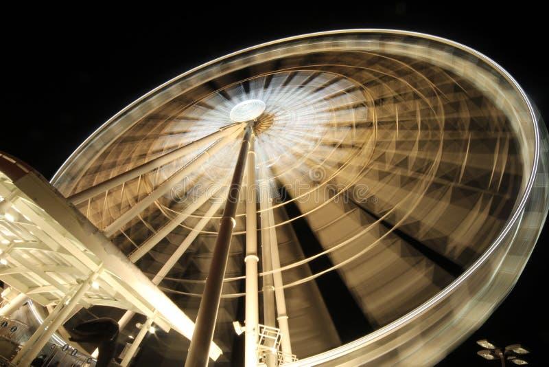 Roda do céu da queda de Niagara imagens de stock royalty free
