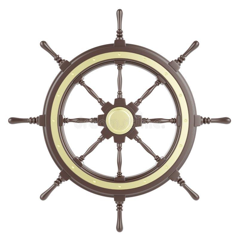 Roda do navio da ilustração ilustração royalty free
