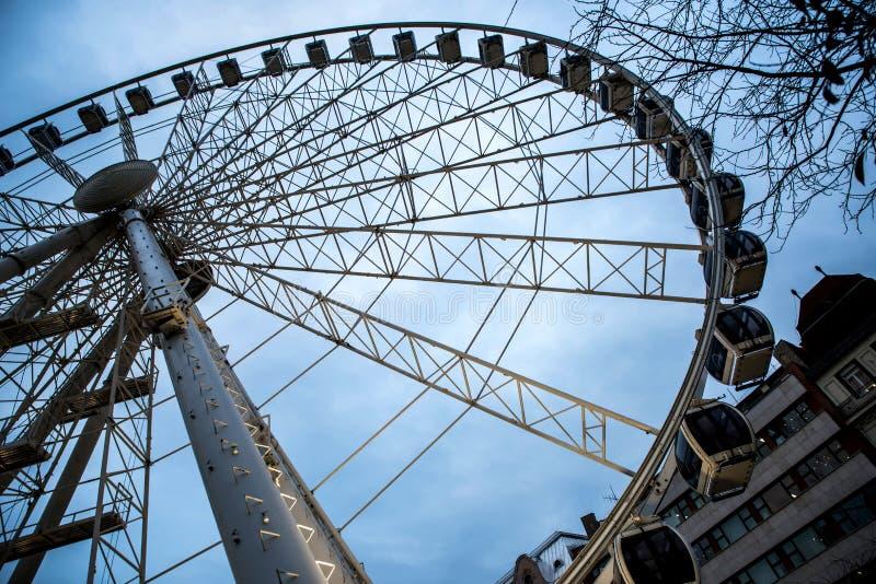 A roda grande fotos de stock royalty free