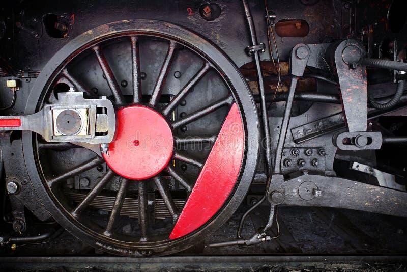 Roda locomotiva fotografia de stock