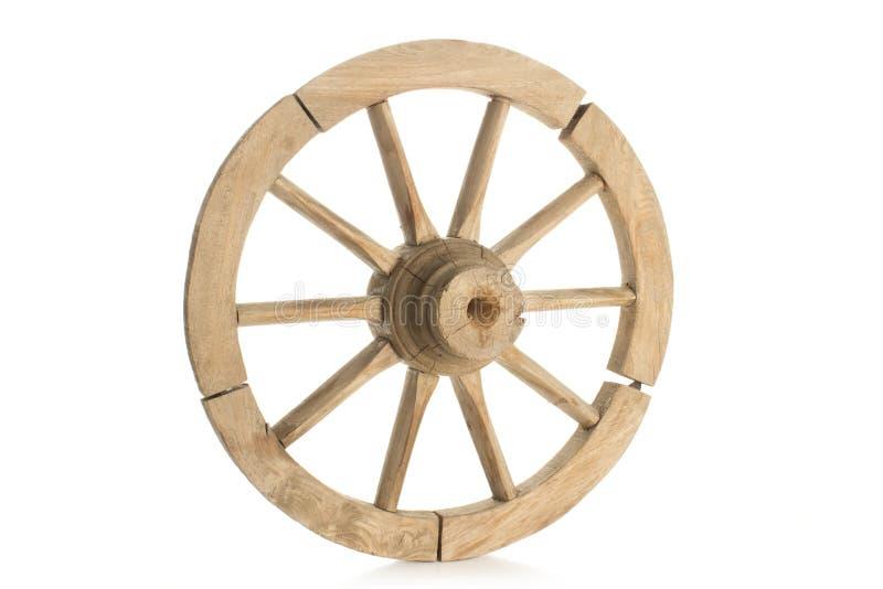Roda velha fotografia de stock