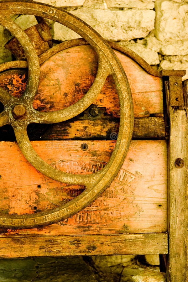 Roda velha foto de stock royalty free