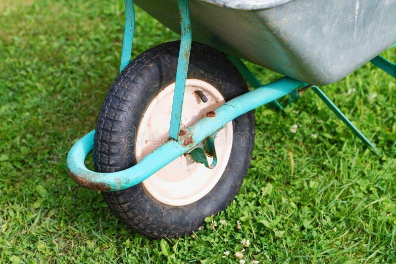 A roda velha Carts o close up foto de stock royalty free