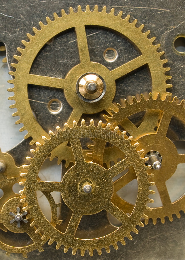 Rodas da roda denteada imagem de stock royalty free