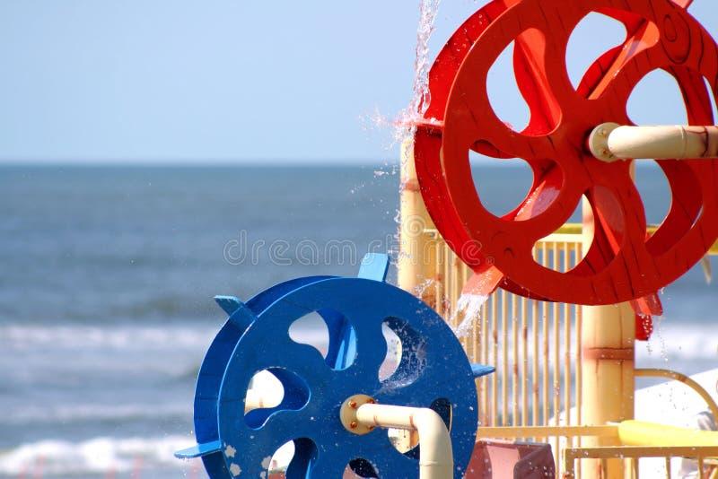 Rodas de água fotografia de stock