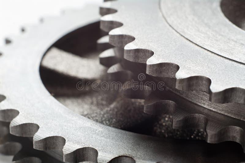 Rodas de engrenagem imagem de stock