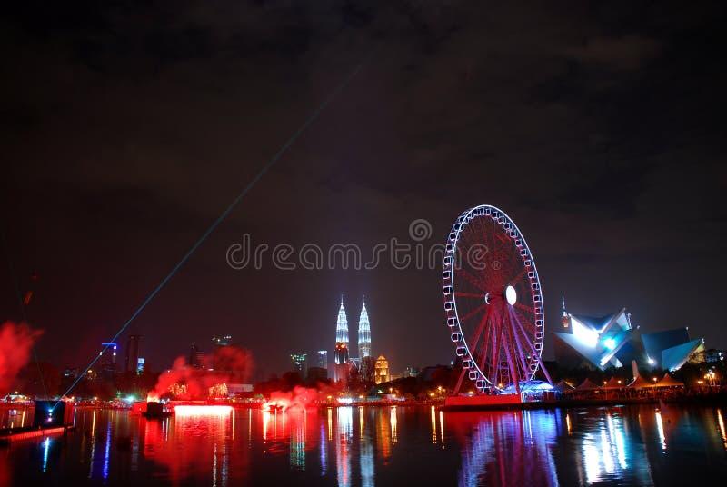 Rodas de Ferris foto de stock royalty free