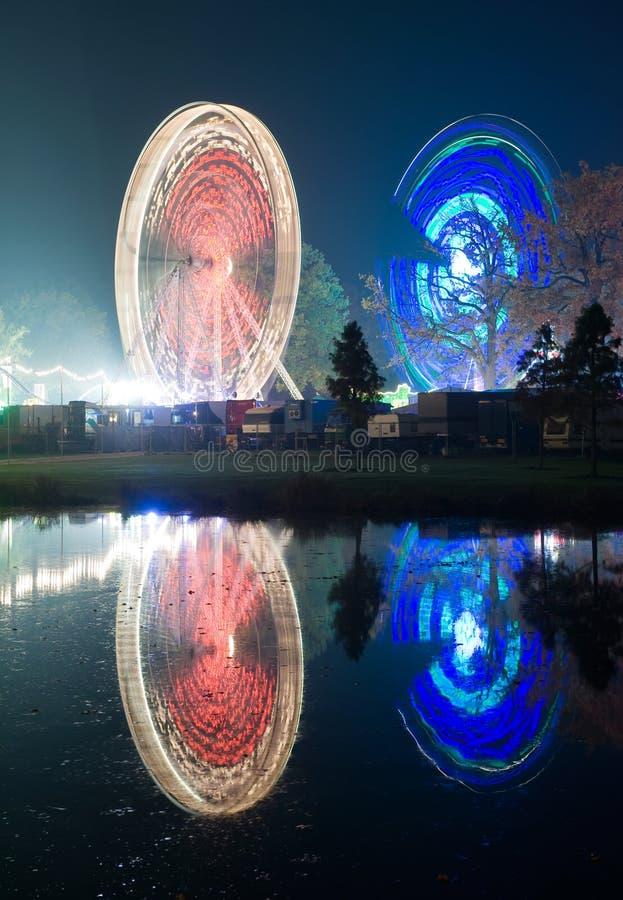 Rodas de Ferris fotografia de stock royalty free
