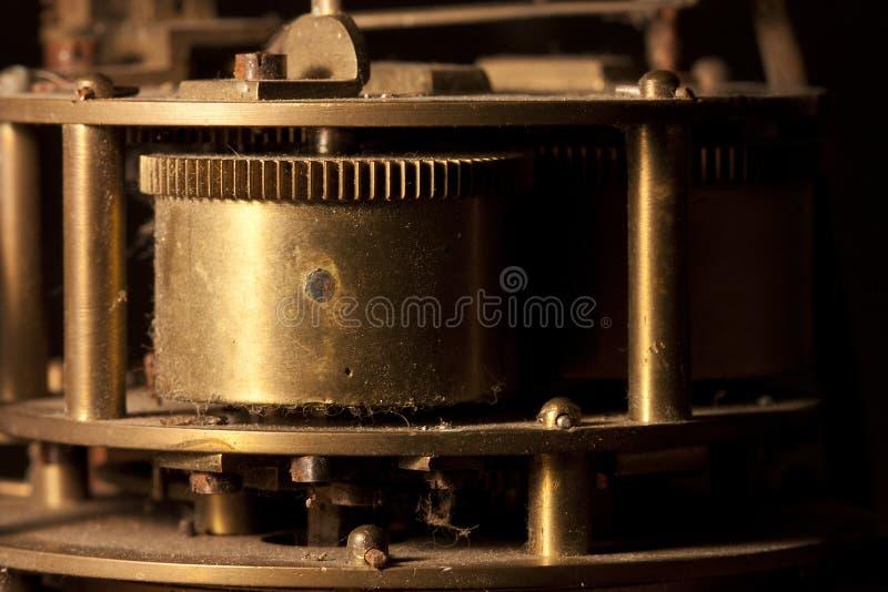Rodas denteadas e rodas de um pulso de disparo imagem de stock