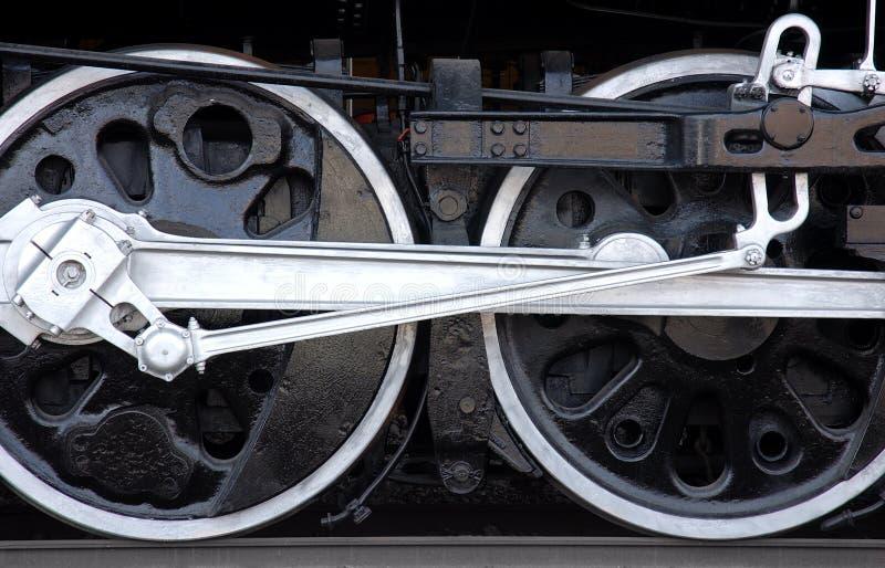 Rodas do trem imagens de stock