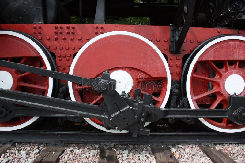 Download Rodas vermelhas foto de stock. Imagem de circular, vermelho - 26508114