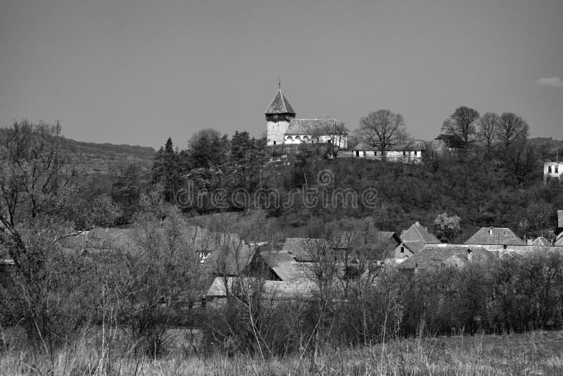 Rodbav教会 库存图片