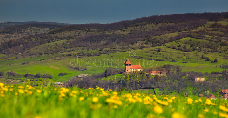 Download Rodbav church stock photo. Image of romanian, roofs, chappel - 31761554