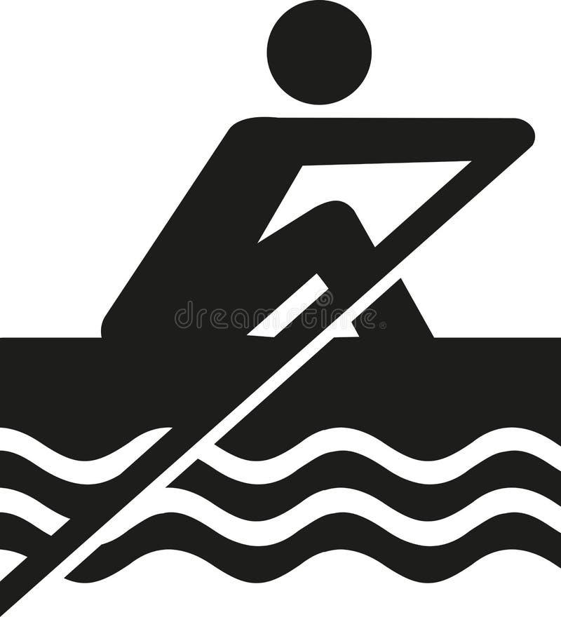 Roddpictogram vektor illustrationer