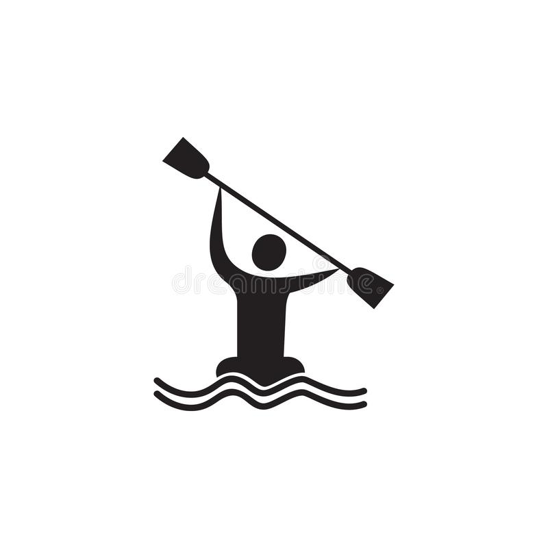 roddsymbol Beståndsdelar av idrottsmansymbolen Högvärdig kvalitets- symbol för grafisk design Tecken och symbolsamlingssymbol för royaltyfri illustrationer