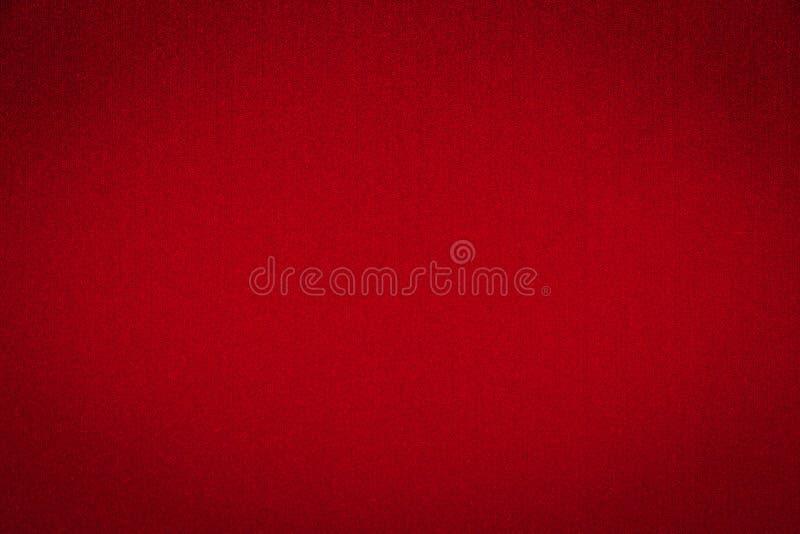 Rode Abstracte Achtergrond met Geborstelde Metaaltextuur stock afbeelding
