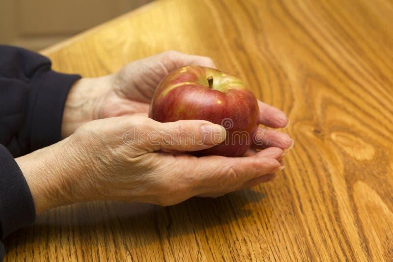 Rode appel royalty-vrije stock foto's