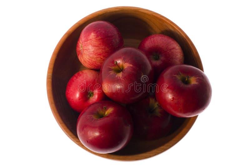Rode appelen royalty-vrije stock foto