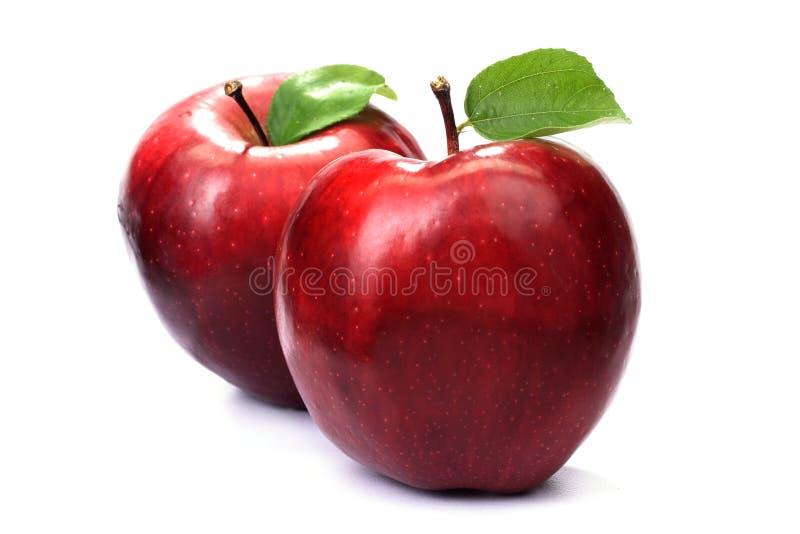 Rode appelen stock afbeeldingen