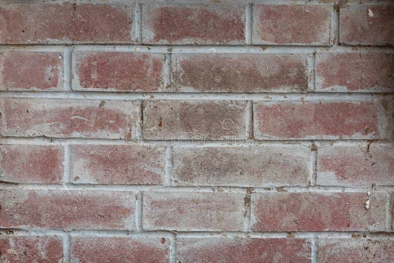 Rode bakstenen muurtextuur royalty-vrije stock afbeelding