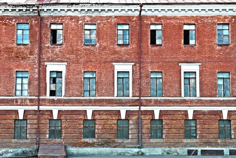 Rode barakken, Nizhniy Novgorod royalty-vrije stock afbeelding
