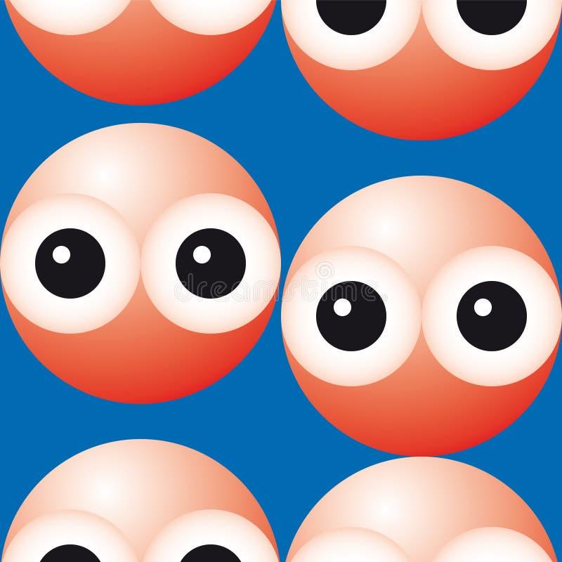 Rode bloedcellen (vector) vector illustratie