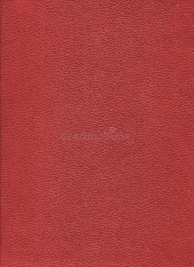Rode boek harde dekking stock afbeelding