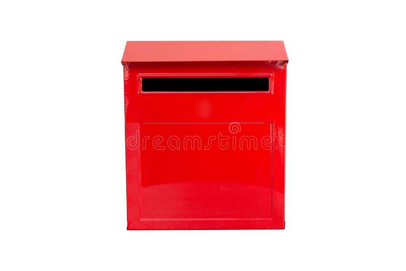 Rode brievenbus stock foto's
