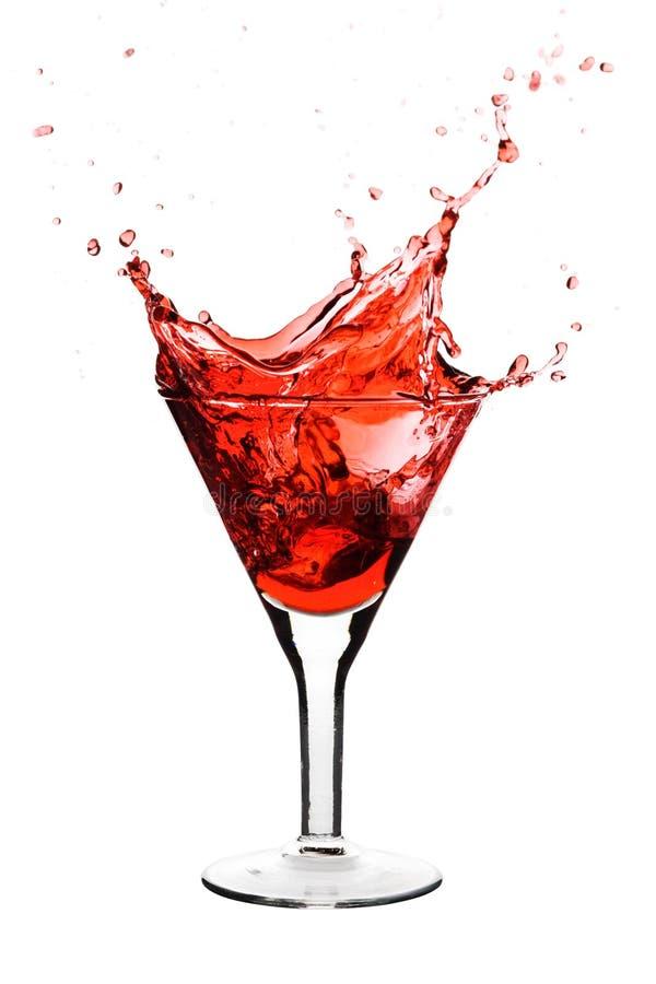 Rode cocktail royalty-vrije stock foto's