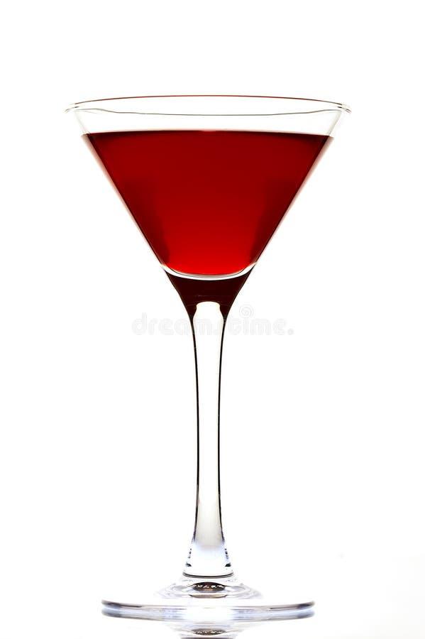 Rode cocktail royalty-vrije stock foto