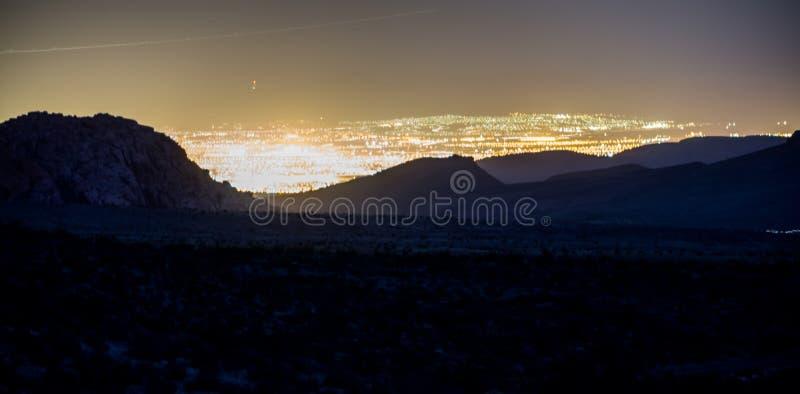 Rode de aardscenics van Nevada van de rotscanion royalty-vrije stock foto's