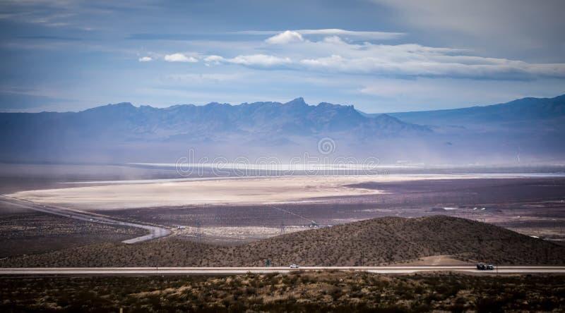Rode de aardscenics van Nevada van de rotscanion royalty-vrije stock afbeelding