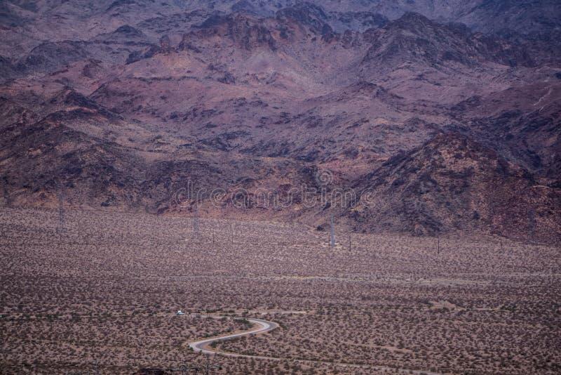 Rode de aardscenics van Nevada van de rotscanion stock afbeeldingen