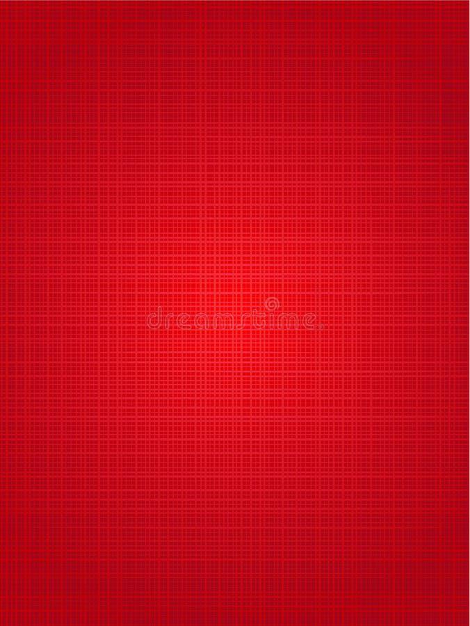 Rode de stoffen verticale achtergrond van Kerstmis vector illustratie