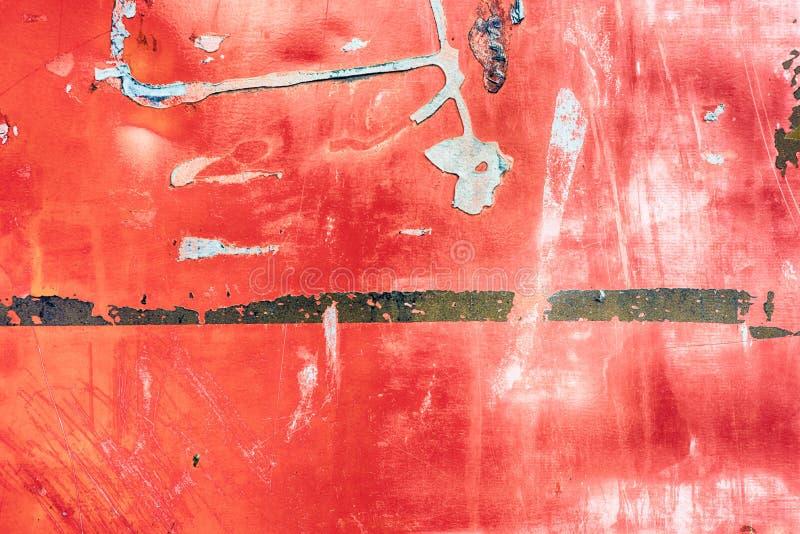 Rode de Verfachtergrond van de Grungestijl stock foto