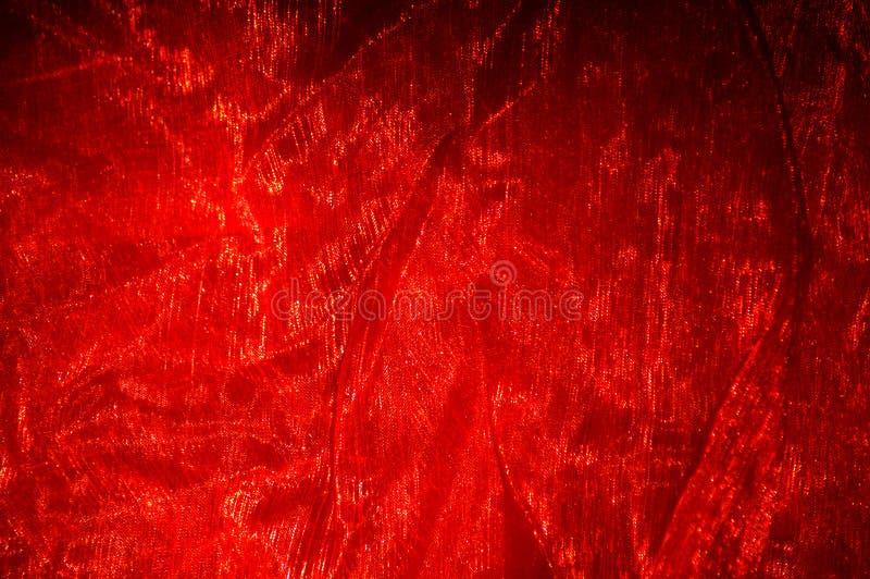 Rode doek royalty-vrije stock foto's