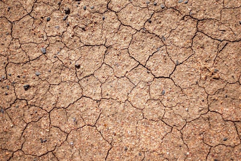 Rode droge aarde tijdens de droogten van Australië royalty-vrije stock fotografie