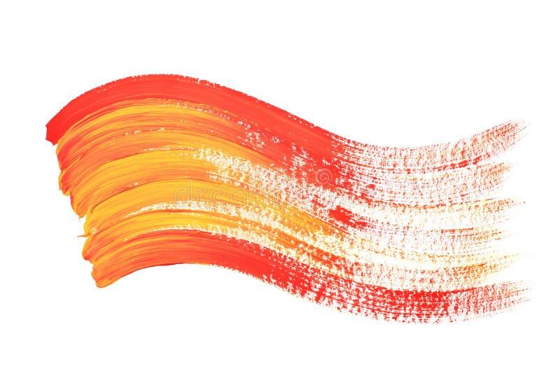 Rode en gele kleurengolf