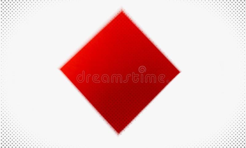 Rode en witte achtergrond stock foto