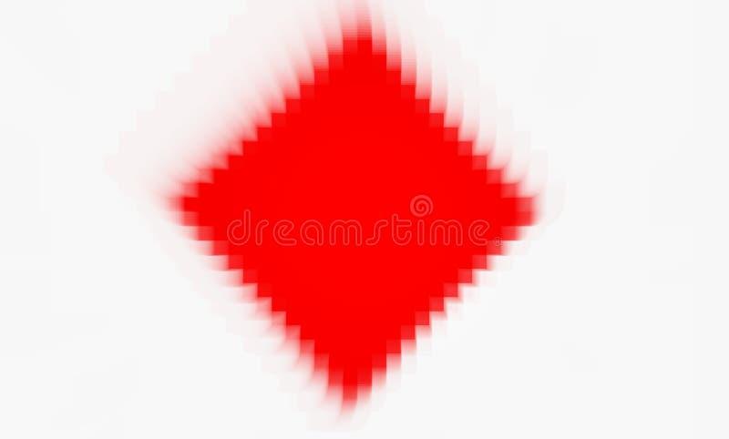 Rode en witte achtergrond stock afbeelding