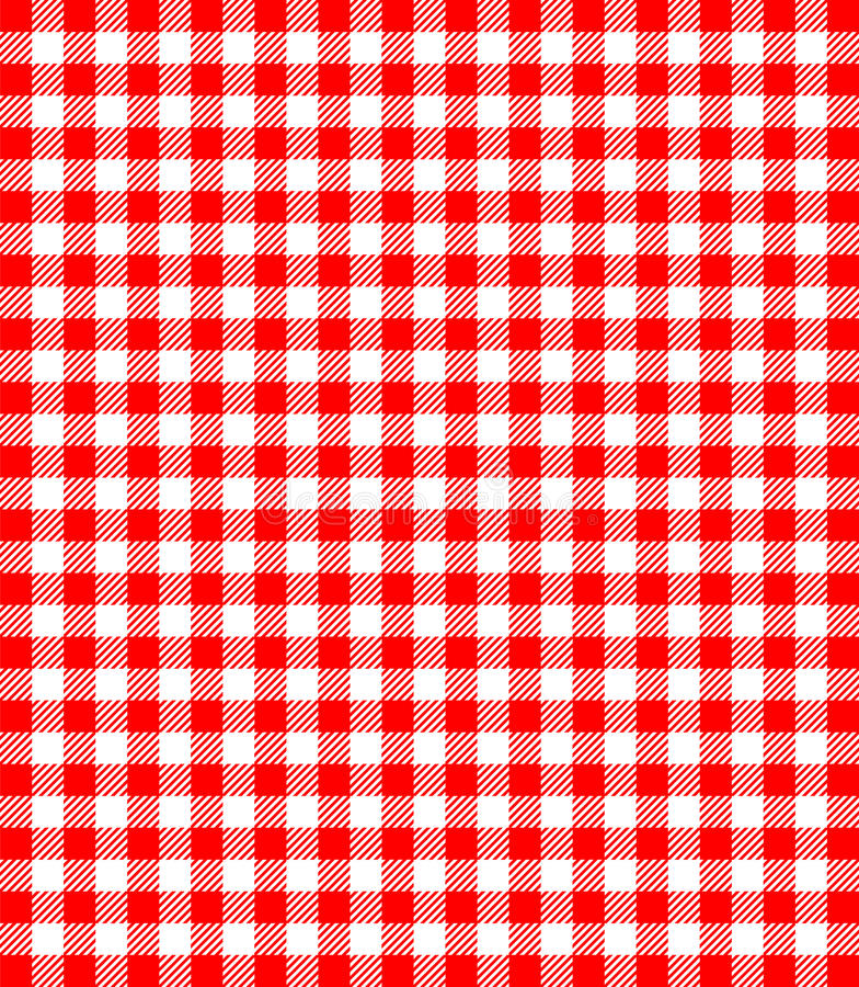 Rode en witte populaire achtergrond royalty-vrije illustratie