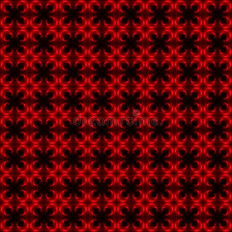 Rode en zwarte lichte patroonachtergrond en textuur royalty-vrije illustratie