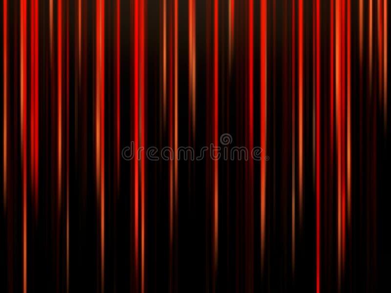 Rode en Zwarte Strepen Abstracte Achtergrond stock fotografie