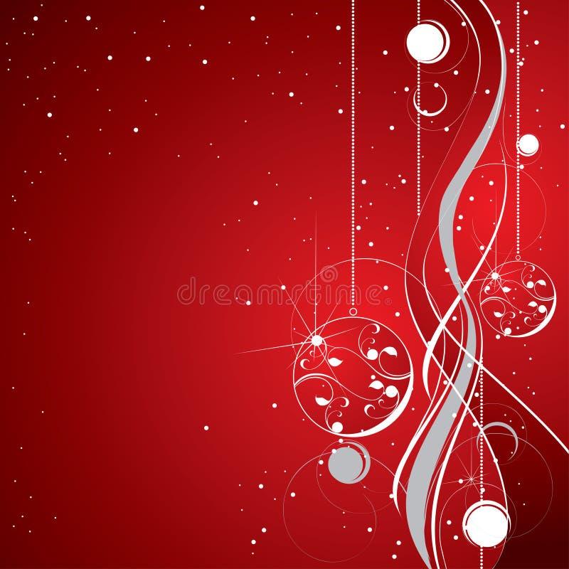 Rode fonkelende achtergrond vector illustratie