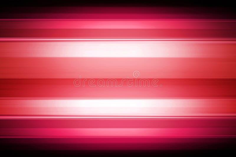 Rode gestreepte achtergrond met schijnwerper vector illustratie