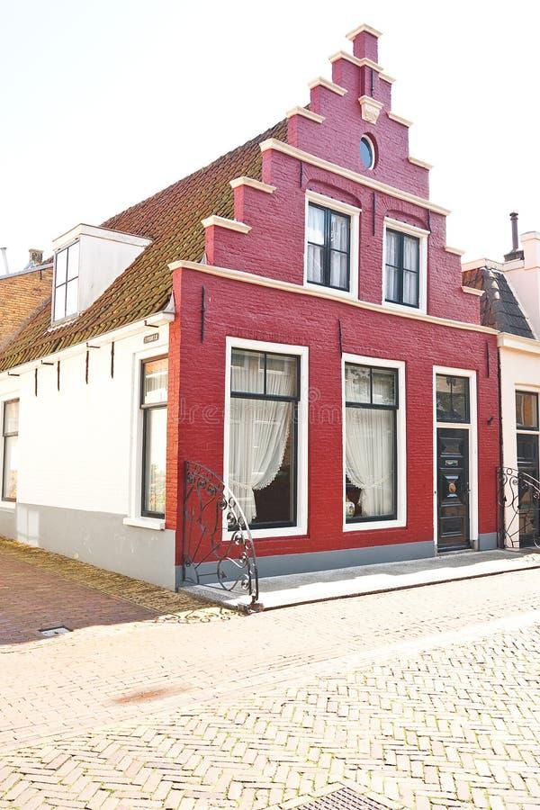 Rode geveltop royalty-vrije stock foto